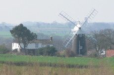 [Norfolk broads windmill]